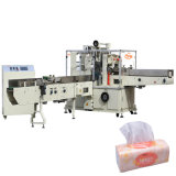 Macchina imballatrice impaccante di carta automatica del tessuto del tovagliolo del fazzoletto per il trucco