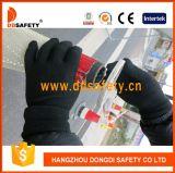 Ddsafety 2017 guanti di nylon con i guanti del PVC e senza giunte