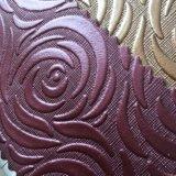 Retro Blumen-Entwurf Belüftung-Leder für Paket-Wand-Dekoration