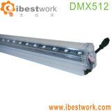 Illuminazione lineare di musica di illuminazione della costruzione del tubo di DMX LED Digital