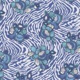 Цветастое напечатанное тканье для одежд женщин красивейших (KQC-0037)