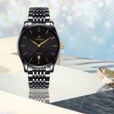 Relógio automático luxuoso 72335 do aço inoxidável dos homens do relógio da alta qualidade