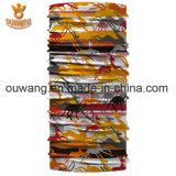 Kundenspezifischer Multifunktionsgefäßgroßhandelsbandana-mit Kapuze Schal