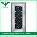 Porte principale simple de grille d'acier inoxydable