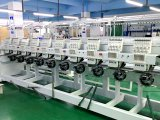 Beste Quality&Design preiswertere Wonyo 10 Hauptstickerei-Maschine verwendet für Verkaufs-Werbung
