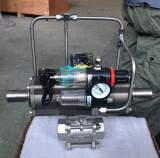 3PC plaatst de Kogelklep met Drie Pneumatische Actuator
