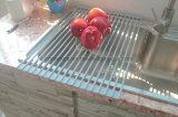 실리콘 철 Foldable 기지철거 접시 건조용 선반