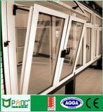 Finestra di alluminio per la girata di inclinazione con il disegno della griglia (Pnoc0029ttw)