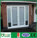 Portes et fenêtres en aluminium à double vitrage et à charnière