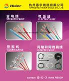Cable siamés de la cámara Rg59/U para el sistema del CCTV de la vigilancia