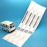 Firmenzeichendrucken Tyvek Identifikationwristband für Ereigniszugriff