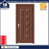 Composite en bois solide MDF intérieur laminé PVC Porte en bois
