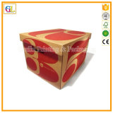 Коробка полного цвета гофрированной бумага бумажная упаковывая