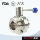 Acero inoxidable de grado Sanitaria válvula de control (JN-1006)
