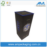 صنع وفقا لطلب الزّبون ورق مقوّى خمر صندوق صاحب مصنع مع غطاء بلاستيكيّة