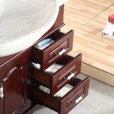 Floor-Mounted Moderne Ijdelheid van de Badkamers van de Waren van het Eiken Hout Sanitaire