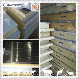 低温貯蔵の部屋によって絶縁されるパネルPUサンドイッチパネル