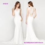 Empfindliches modernes Spitze-Nixe-Hochzeits-Kleid