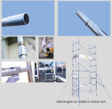 Mobile Tower System Single Width Echafaudage en aluminium