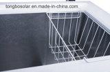 Congélateur commercial 190L de poitrine de congélateur solaire de C.C 12V 24V