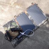 7W Foldable結晶の太陽電池パネルの充満パック
