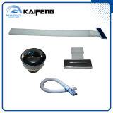 Bañera independiente de acrílico del rectángulo de 67 pulgadas (KF-766BC)