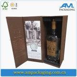Caixa de presente de presente de espetáculo de espuma de vinho de luxo com gosto festivo para amante
