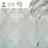 正方形の綿の高品質E10037の化学レースファブリック衣服のアクセサリ