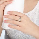 잎 디자인 925 순은 반지 보석 여자