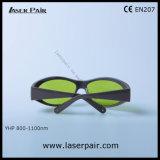 Het Type van sporten van 8001100nm de Beschermende Bril van de Laser voor 808nm, 980nm de Lasers van Dioden, 1064nm Nd: YAG Lasers, de Verwijdering van de Tatoegering met Frame 55