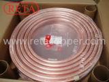 Tubo de la bobina del cobre de la refrigeración de la alta calidad