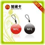 Intelligente NFC Epoxidmarke kundenspezifischer Größen-Plastik-Belüftung-