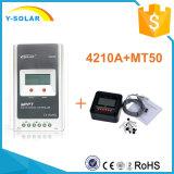 Epever 40A 12 / 24V Auto identificador MPPT controlador de carga regulador solar com LCD