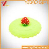 Изготовленный на заказ милая жара сопротивляет крышке чашки силикона