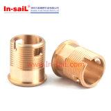 Peças do CNC Machhining do bronze da alta qualidade do OEM