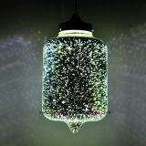 装飾的のための3Dガラス陰が付いている2017新しいハングのペンダント灯