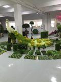 인공적인 장식 정원 잔디 정원 동물 작은 조상 인공적인 플랜트 조각품