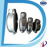 Morsetto di tubo del metallo dell'Assemblea che misura accoppiamento resistente idraulico