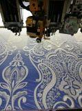 Tessuto di lusso del ricamo del voile dei Sequins per il vestito da cerimonia nuziale nuziale di sera