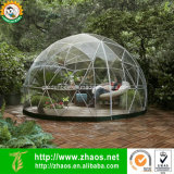 Casa plástica de la bóveda geodésica del claro al aire libre de múltiples funciones del invernadero