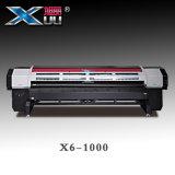 Impressoras de Xuli - impressora ao ar livre do solvente do Inkjet de Digitas da cabeça de impressão *4 de 3.2m Konica 512I (30PL)