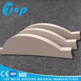 Perfis 2017 de alumínio do defletor do revestimento de madeira de Foshan com painel de parede