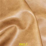 Um couro de imitação do plutônio da classe para sacos, sapatas, Upholstery