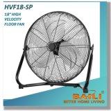 """"""" Fußboden-Ventilator-industrieller Ventilator der hohen Geschwindigkeits-18 mit 3 Geschwindigkeiten"""