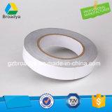 Base solvente pegajosa no tejida de la cinta 130mic del tejido (DTS10G-13)