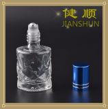 Rolo no frasco de perfume de vidro com a esfera de rolo do tampão de frasco de alumínio e do aço inoxidável