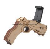 新しいデザインBluetoothの射撃のゲーム3Dの木製のおもちゃArは撃つ