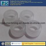 Kundenspezifische CNC-Drehbank, die Plastikteile maschinell bearbeitet