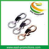 Porte-clés multifonctionnel de véhicule de trousseau de clés d'ouvreur de bouteille en métal de trousseau de clés de cuir de trousseau de clés avec l'éclairage LED