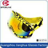Beschermende brillen van de Ski van Snowboard van de Lens van het Effect van de Glazen van de Sport van 100% de UV Beschermende Openlucht Hoge Dubbele